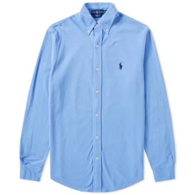 Polo Ralph Lauren Pique Button Down Shirt