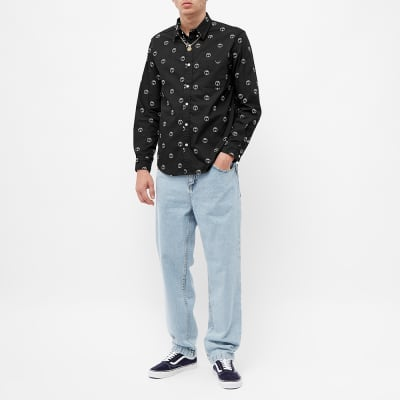 Fucking Awesome Embroidered Oxford Shirt