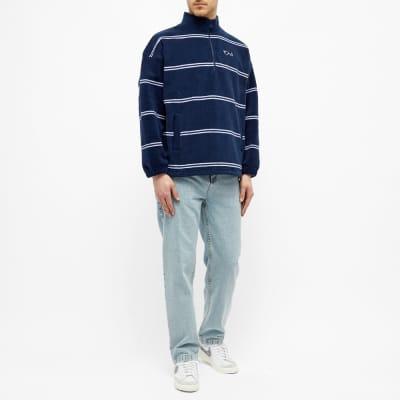Polar Skate Co. Stripe Fleece Pullover 2.0