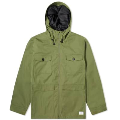 Vanquish Hooded Military Jacket