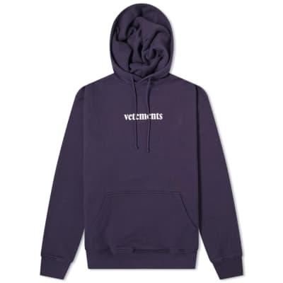Vetements Logo Hoody