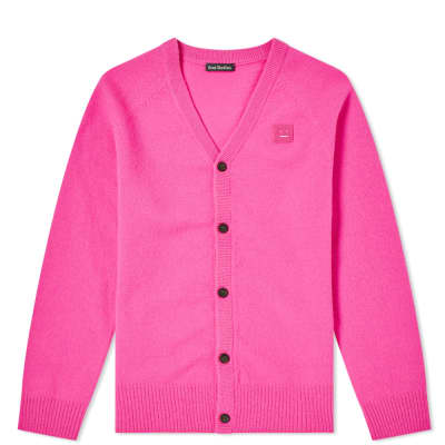 Acne Studios Mini Neve Face Cardigan