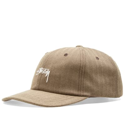 Stussy Stock Herringbone Low Pro Cap