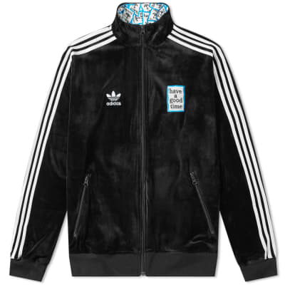 Adidas x Have A Good Time Velour Track Top