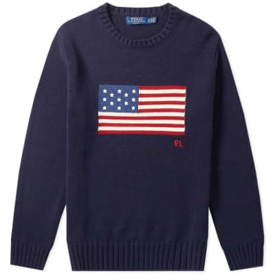 9ed21ab6 Polo Ralph Lauren Flag Intarsia Knit