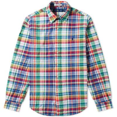 Polo Ralph Lauren Madras Button Down Check Shirt