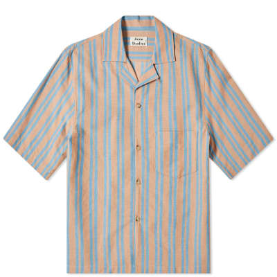 Acne Studios Simon Stripe Tex Vacation Shirt