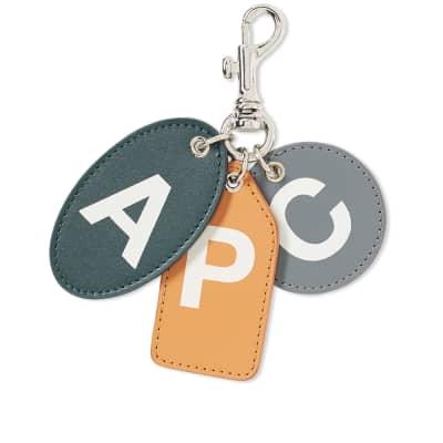 A.P.C. Louis Letters Keyring