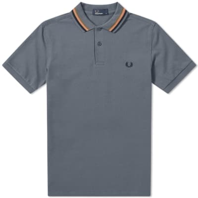 Fred Perry Bomber Stripe Pique Polo