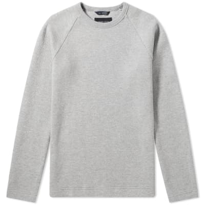 Wings + Horns Vented Double Knit Crew