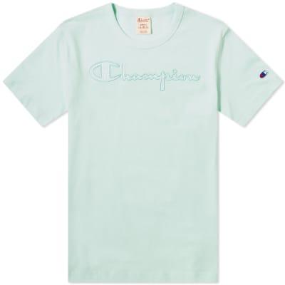 Champion Reverse Weave Tonal Script Logo Tee