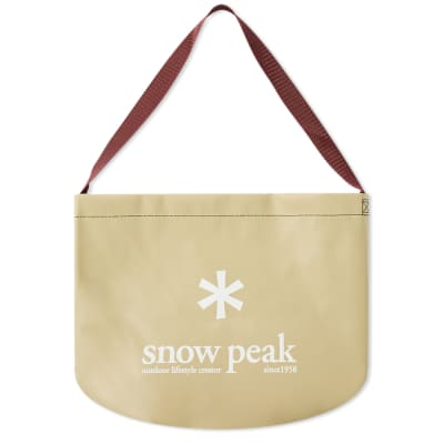 Snow Peak Camping Bucket