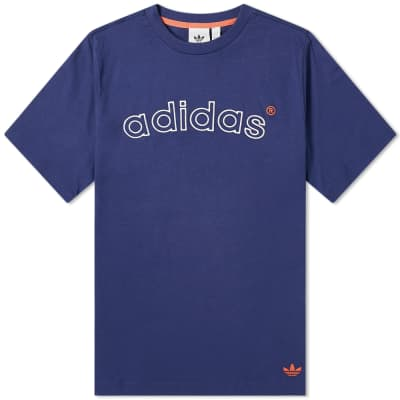Adidas 90's Archive Arch Logo Tee