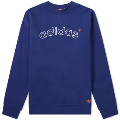 Adidas 90's Archive Arch Logo Crew Sweat