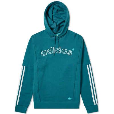 Adidas 90's Archive Arch Logo Hoody