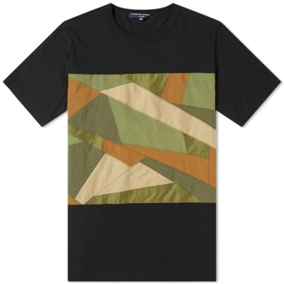 Comme des Garcons Homme Fabric Camo Insert Tee