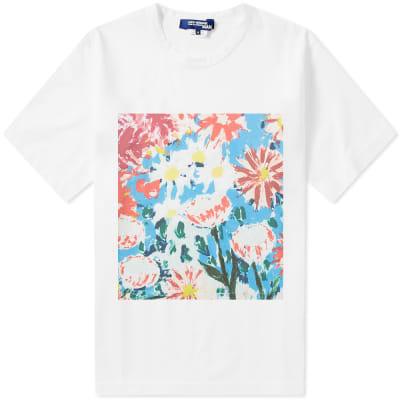 Junya Watanabe MAN Floral Print Tee