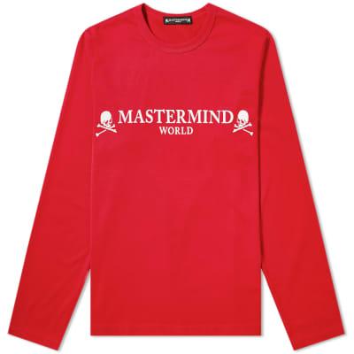 MASTERMIND WORLD Long Sleeve Logo Tee