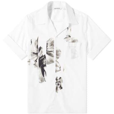 Neil Barrett Floral Vacation Shirt