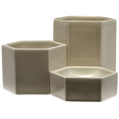 Vitra Jasper Morrison 2019 Hexagonal Containers - Pack of 3
