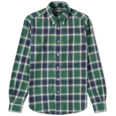 Gitman Vintage Twill Plaid Shirt