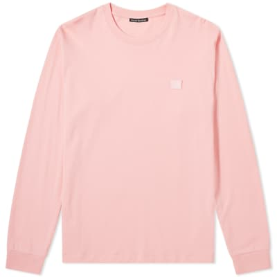 Acne Studios Elwood Face Long Sleeve Tee