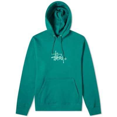 Stussy Basic Copyright Applique Hoody