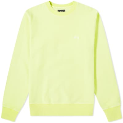 Stussy Stock Logo Crew Sweat