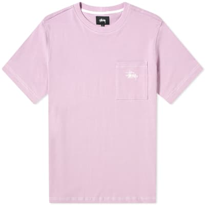 Stussy Stock Pocket Crew Tee