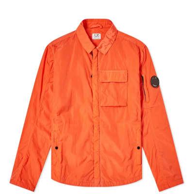 C.P. Company Undersixteen Nylon Arm Goggle Zip Shirt