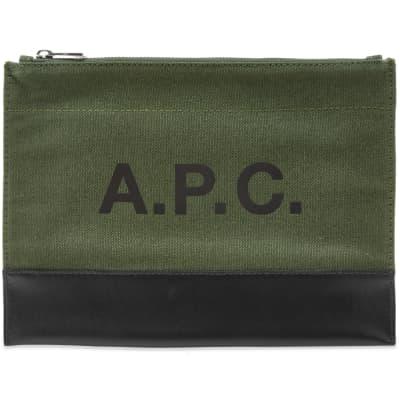 A.P.C. Axel Logo Pouch