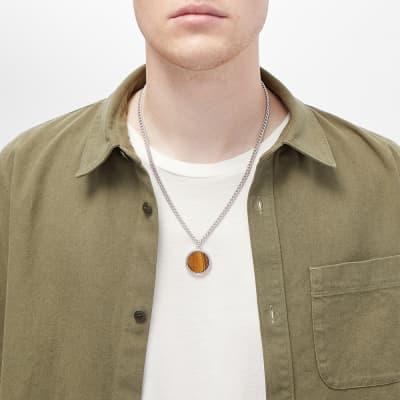 A.P.C. Pierre Tiger Eye Necklace