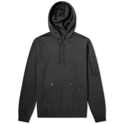 c05c42aa1dc Saint Laurent Zip Detail Hoody