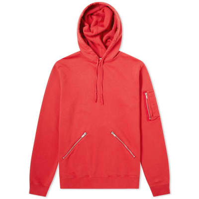 987b348243a Saint Laurent Zip Detail Hoody