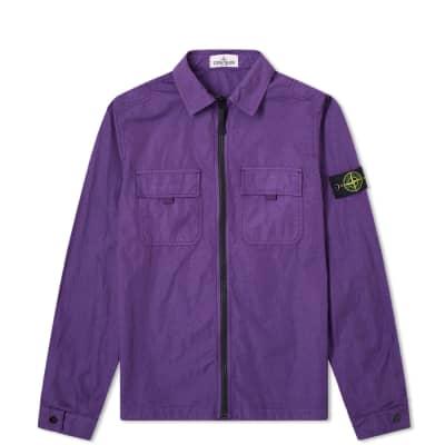 Stone Island Junior Zip Overshirt