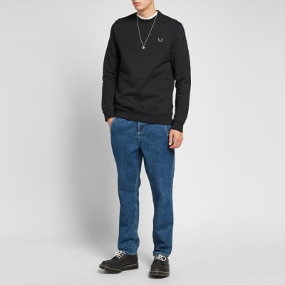 Fred Perry x Raf Simons Laurel Detail Crew Sweat