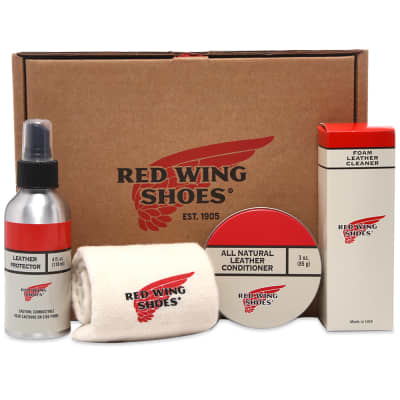 Red Wing Oil Tanned Leather Care Kit