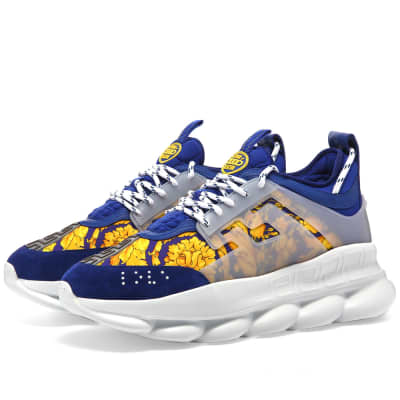 Versace Baroque Print Chain Reaction Sneaker