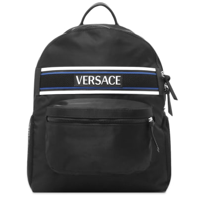 Versace Bonded Logo Backpack