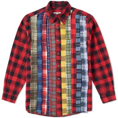 Needles Rebuild Ribbon Flannel Shirt