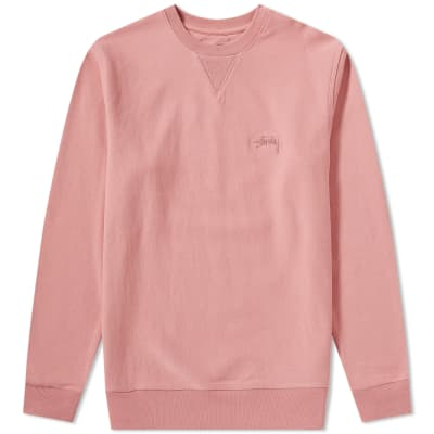 Stussy Stock Terry Crew Sweat