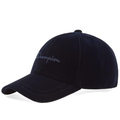 Champion Reverse Weave Script Logo Velour Baseball Cap