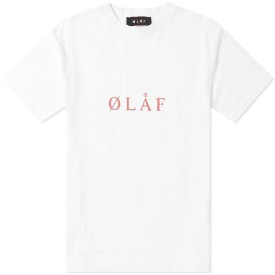 Olaf Hussein ØLAF Serif Tee