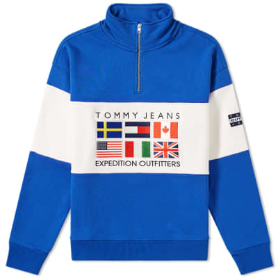 3cc54e7a Tommy Jeans 6.0 Outdoors Half Zip Sweat M25