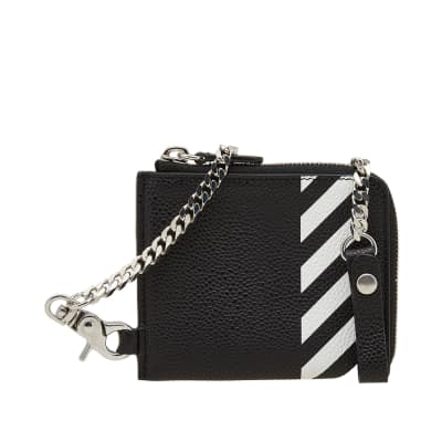 Off-White Diagonals Coin Purse