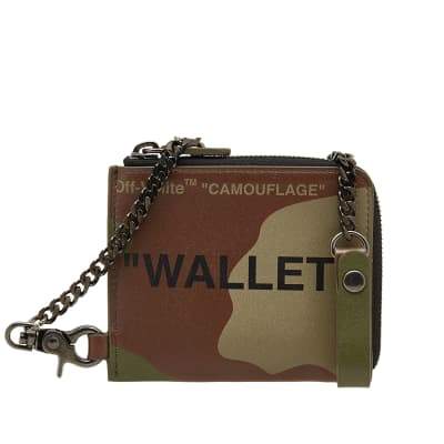 Off-White Quote Chain Wallet
