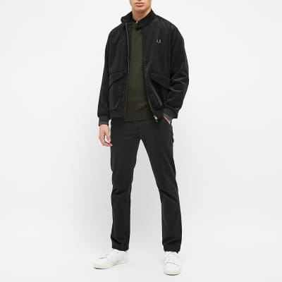 Fred Perry Tipped Sleeve Crew Knit