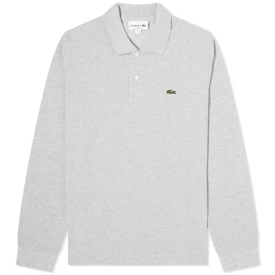 Lacoste Long Sleeve Marl Pique Polo