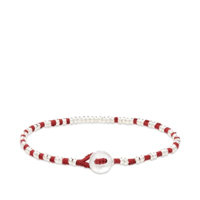 Mikia Silver Beaded Bracelet