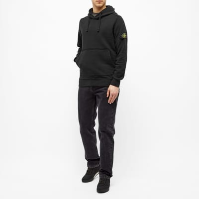 Stone Island Garment Dyed Popover Hoody